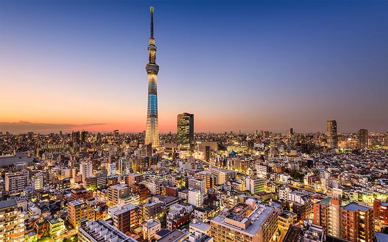 بلندترین برج های مخابراتی-اسکای تری ژاپن