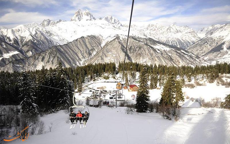 سفر به سوانتی و مستیا-اسکی