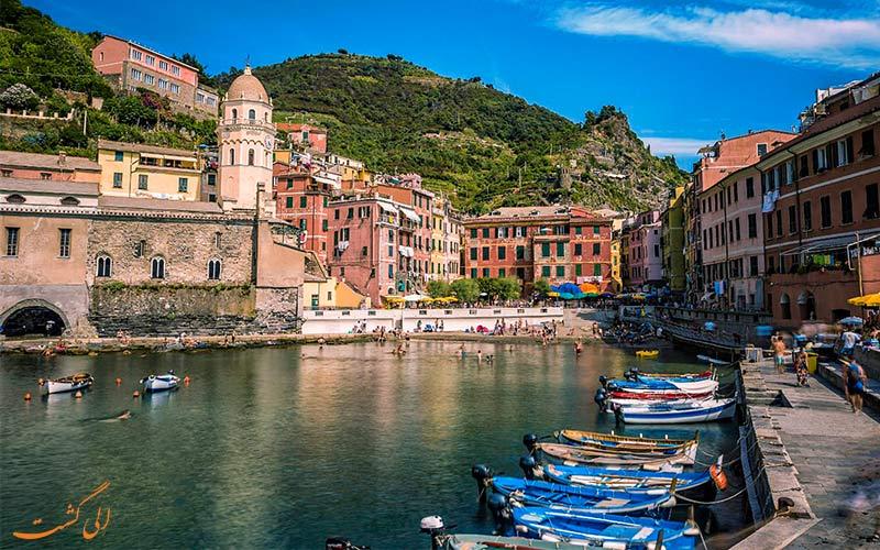 سینکو تره ایتالیا-Cinque Terre دسترسی