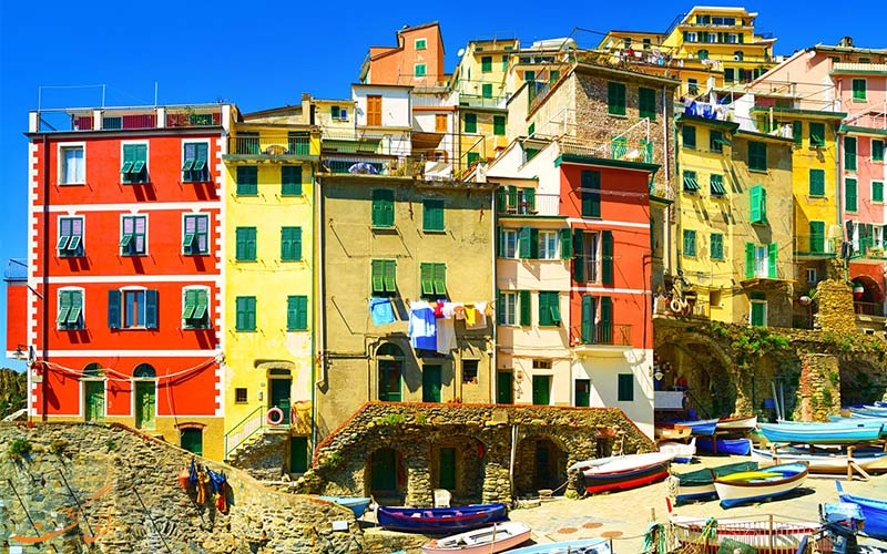 سینکو تره ایتالیا-اقامت
