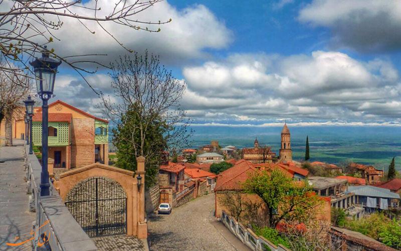 سیقناقی گرجستان-زیبایی های شهری