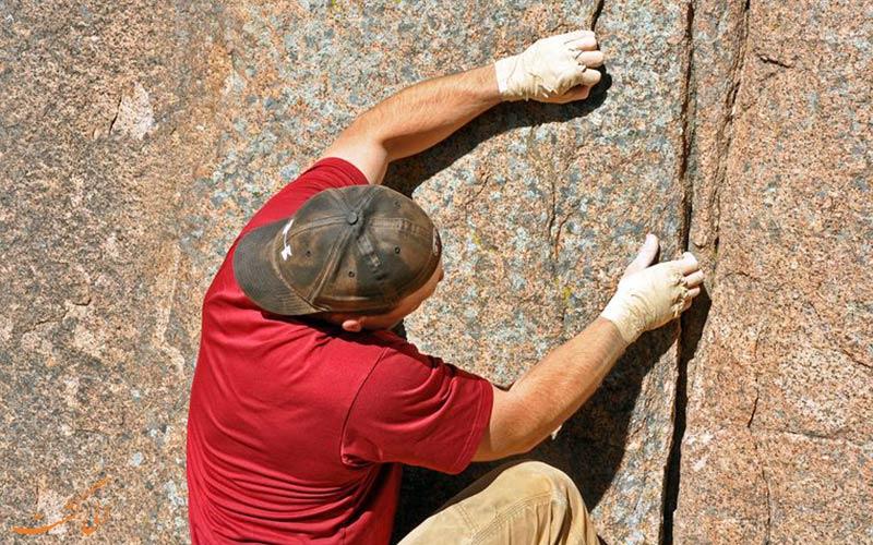 نکات ایمنی در صخره نوردی-مراقب باشید