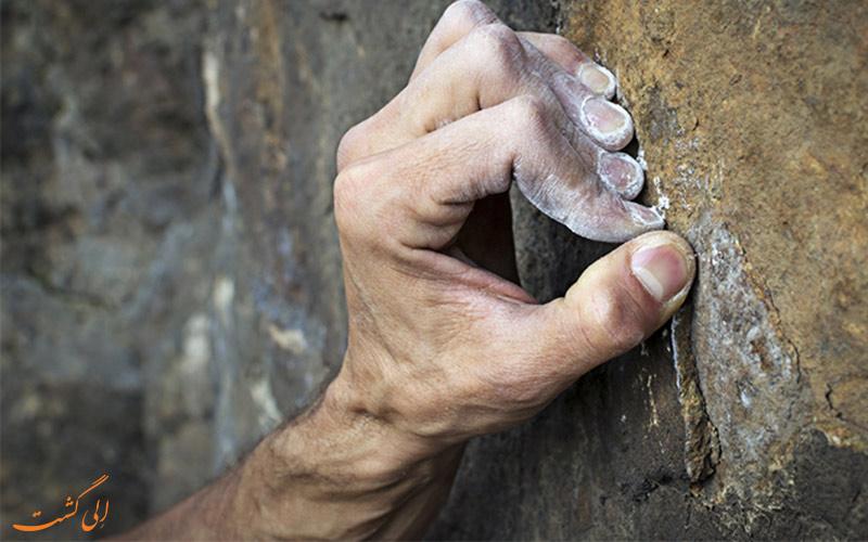 نکات ایمنی در صخره نوردی