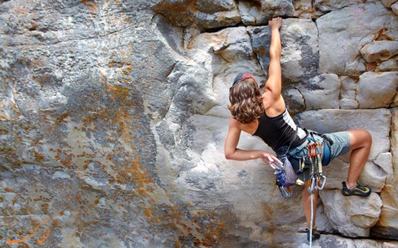 نکات ایمنی در صخره نوردی و کوهنوردی