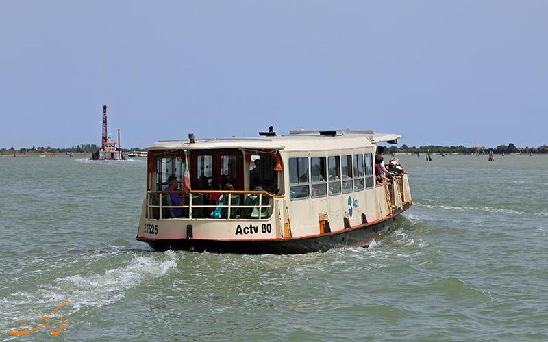 واپورتو ونیزی-اتوبوس های آبی