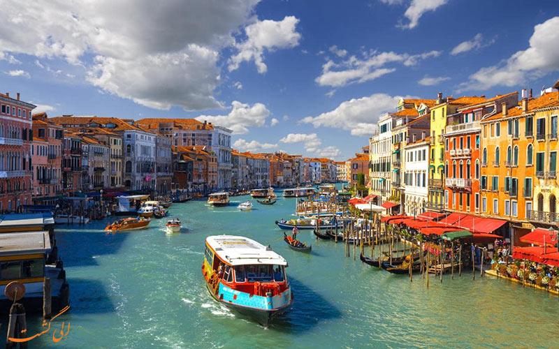 واپورتو ونیزی-راهنمای حمل ونقل آبی در ونیز