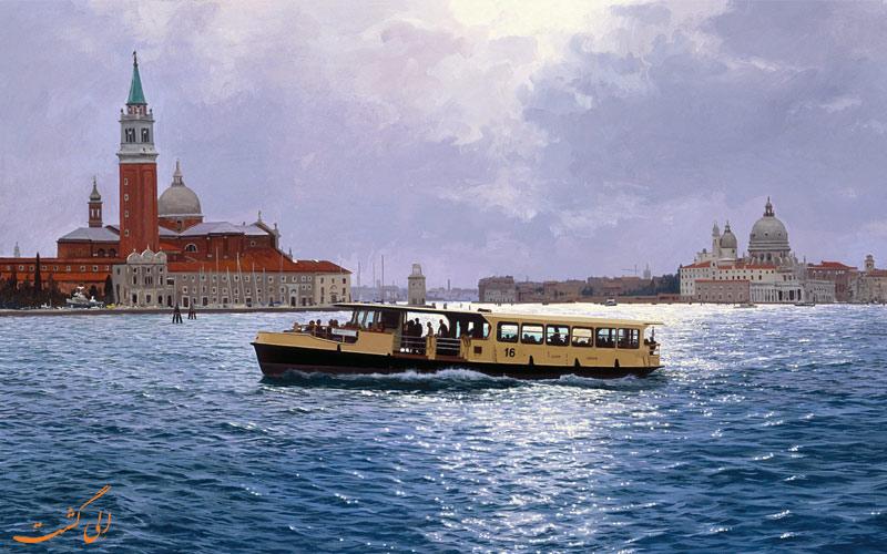 مسیرهای اتوبوس های آبی در ونیز