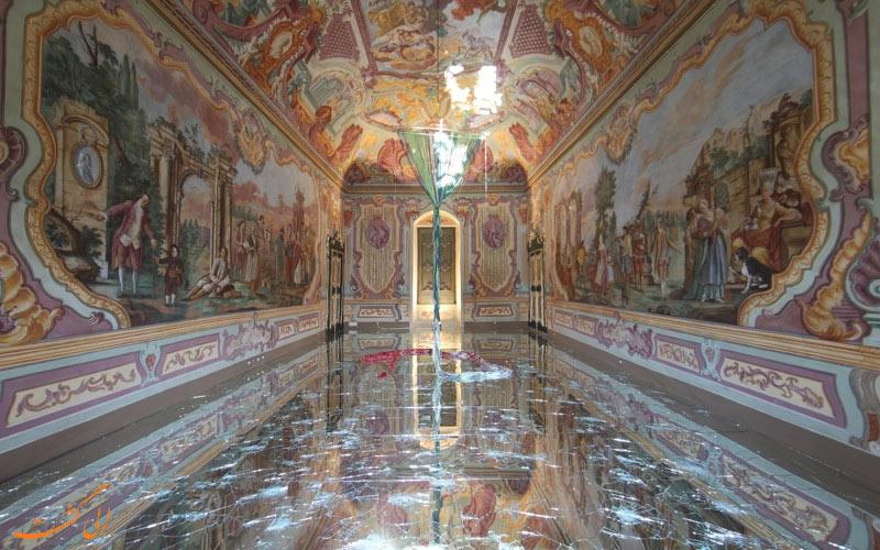تالارهای درون کاخ داگز ونیز