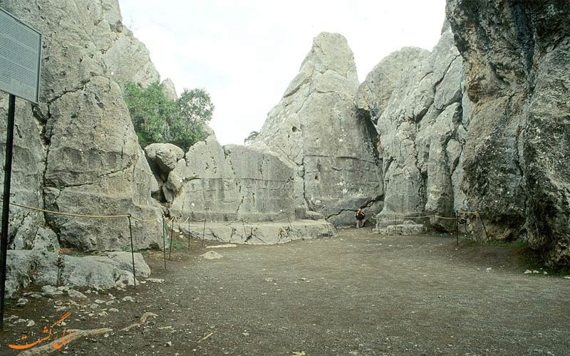 یازیلی کایا در ترکیه