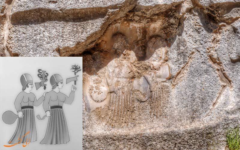 یازیلی کایا ترکیه-الهه ها