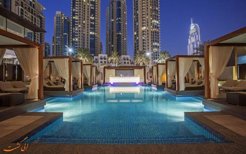 هتل ویدا دوونتون در دبی