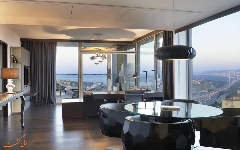 هتل 5 ستاره مریدین اتیلر در استانبول
