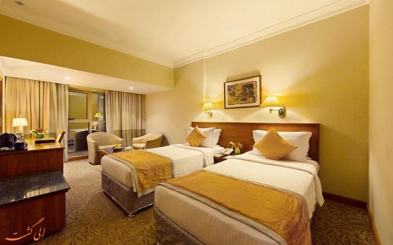هتل 4 ستاره لوتوس گرند در دبی