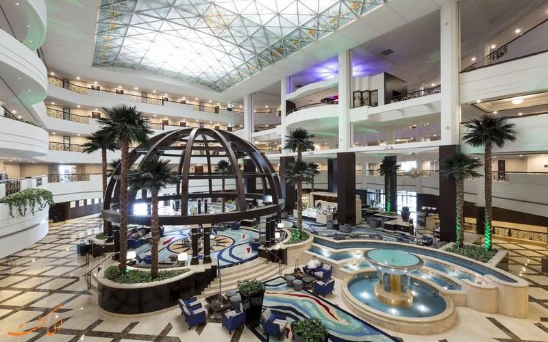 هتل 5 ستاره ردا البوستان دبی