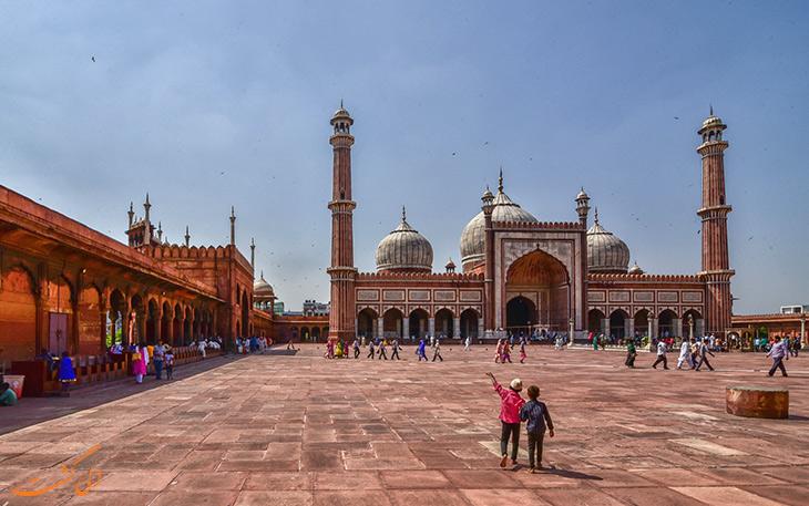 مسجد جامع در شهر دهلی
