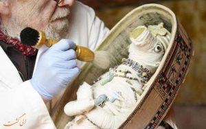 کشف عروسک 3 هزار ساله ی فرعون مشهور مصری! + تصویر