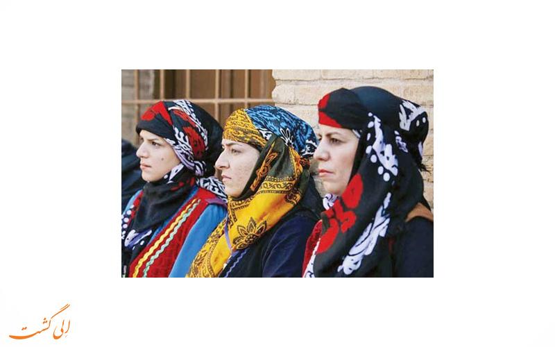 لباس زنان ایلامی