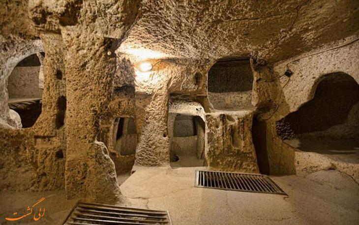 امکانات مورد نیاز جهت بازدید از شهر زیر زمینی سامن
