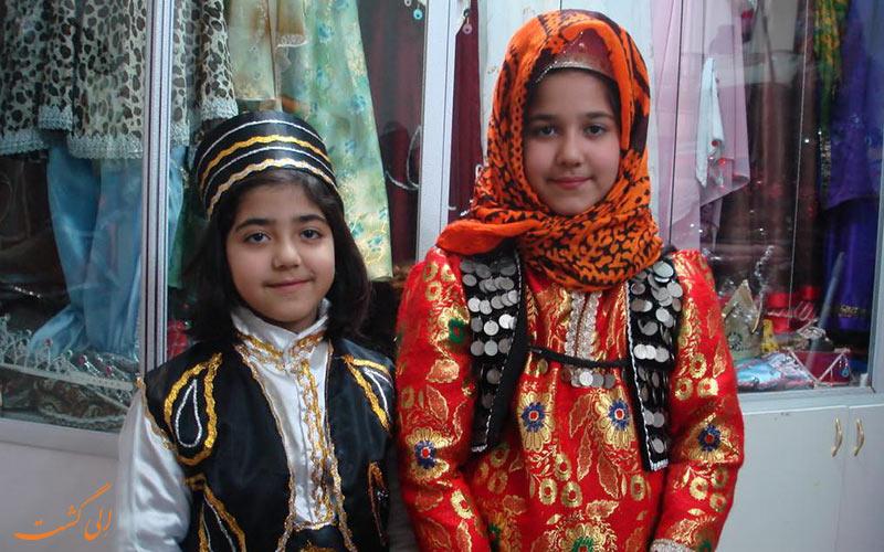 لباس زنان آذربایجان شرقی