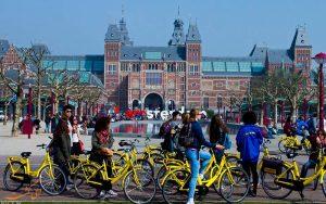 ماجراجویی با دوچرخه در آمستردام!