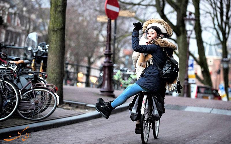 برخی از اصول اولیه ی ماجراجویی با دوچرخه سواری