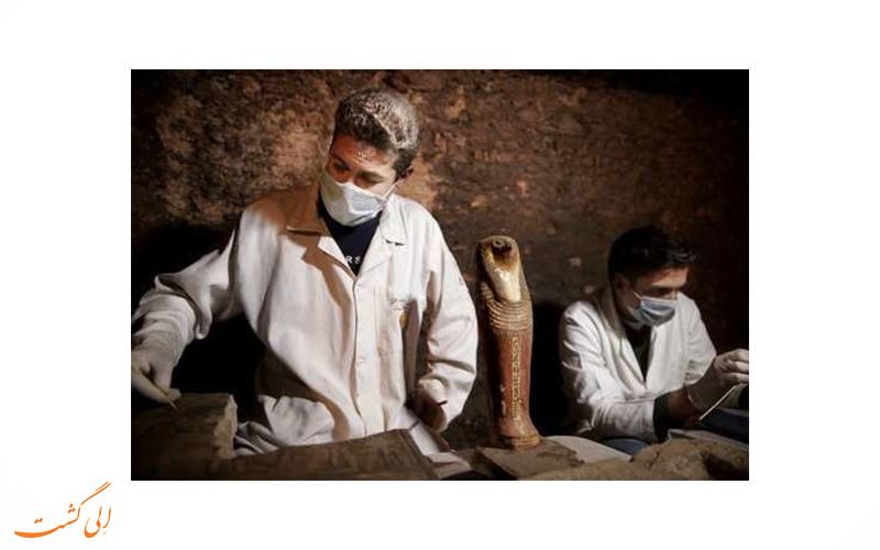 مومیایی 6 هزار ساله ی مصری