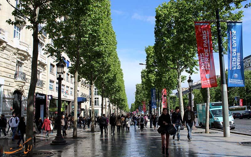 خیابان رزیه | Rue des Rosiers