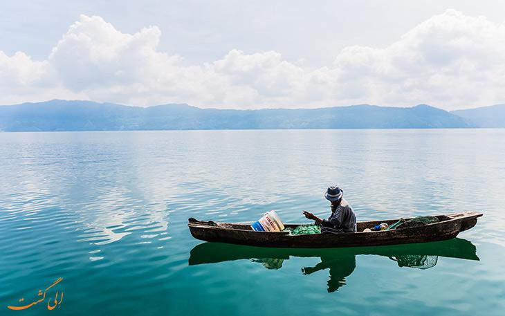 سفر به دریاچه توبا اندونزی