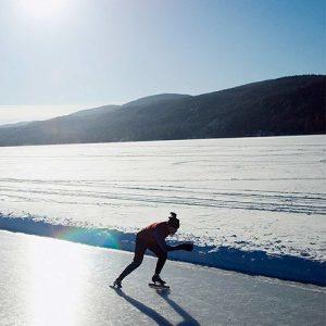پیست های اسکیت روی یخ