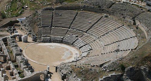 آمفی تئاترهای باستانی
