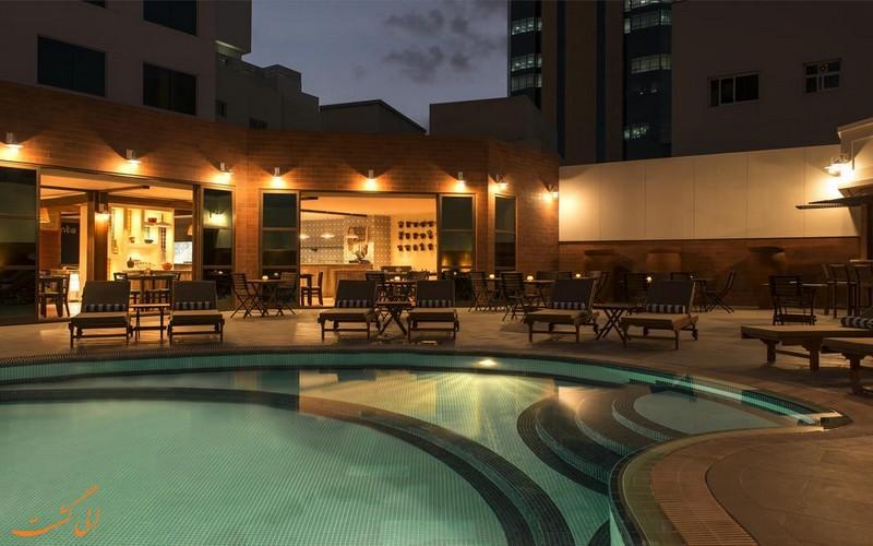 هتل 4 ستاره فور پوینتز بور دبی
