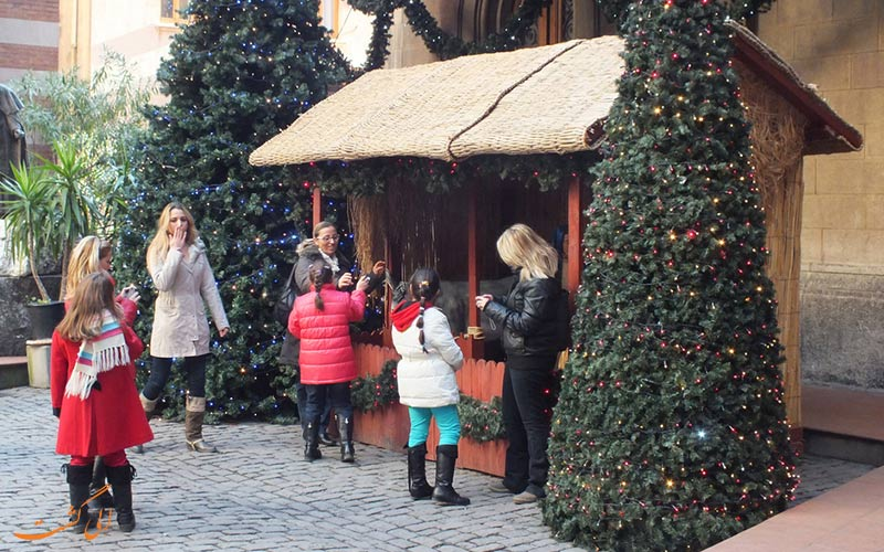 جشن کریسمس در استانبول به چه شکلی برگزار می شه