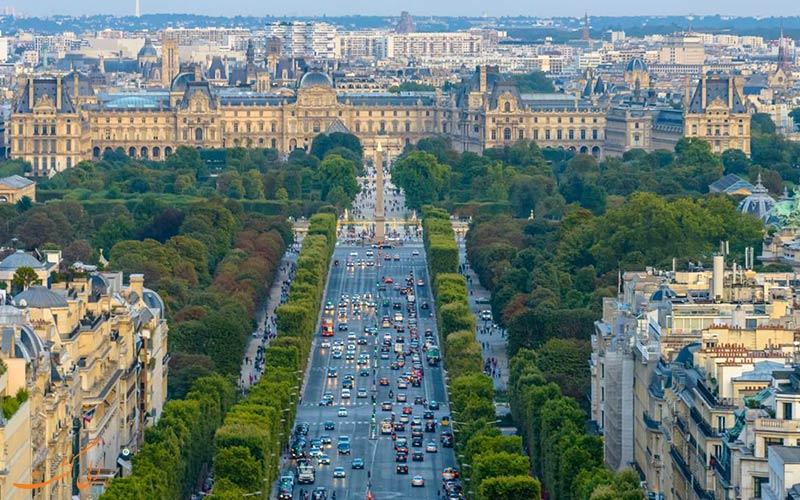 خیابان شانزه لیزه | Avenue des Champs-Élysées