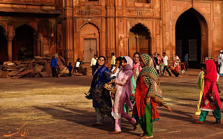 زنان هندی در دهلی