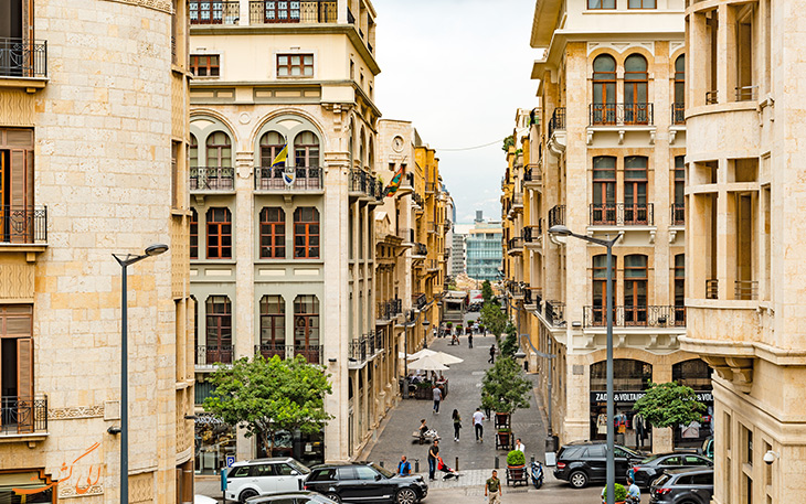 شهر بیروت در لبنان