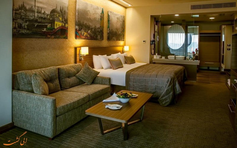 هتل 5 ستاره گوریون