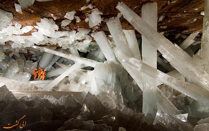 غار کریستالها در مکزیک