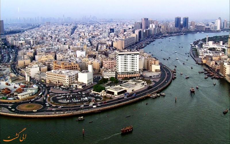 محله های قدیمی دبی