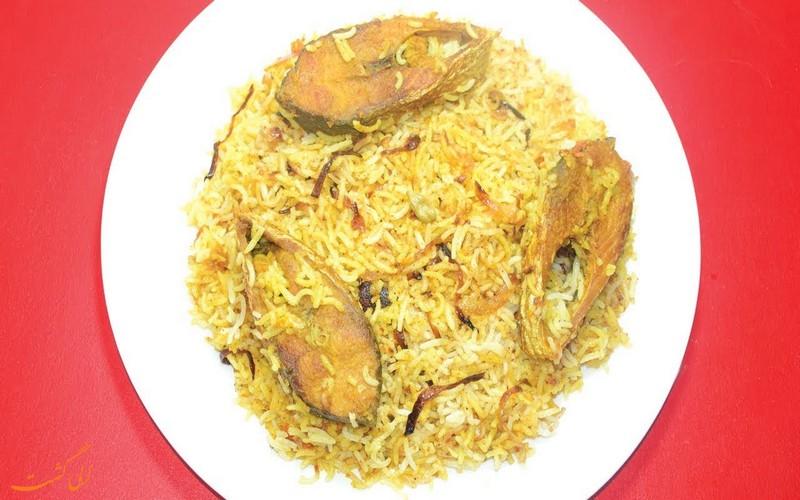 برنج و ماهی