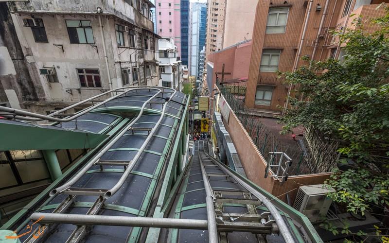 پله برقی هنگ کنگ