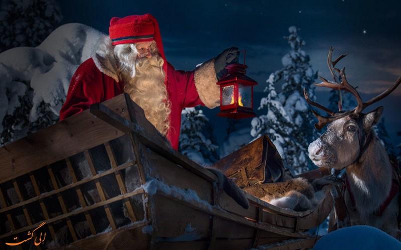 دهکده بابانوئل در لاپلند