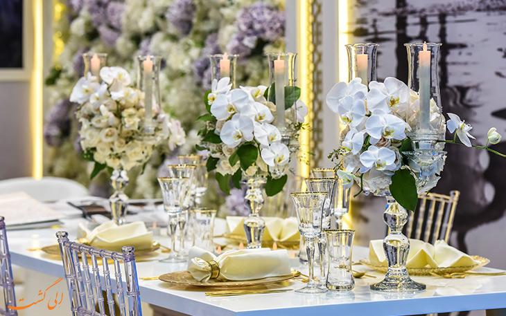 تزئینات مراسم عروسی