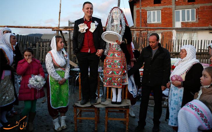 لباس عروس بلغاری
