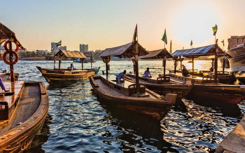 قایق های سنتی دبی