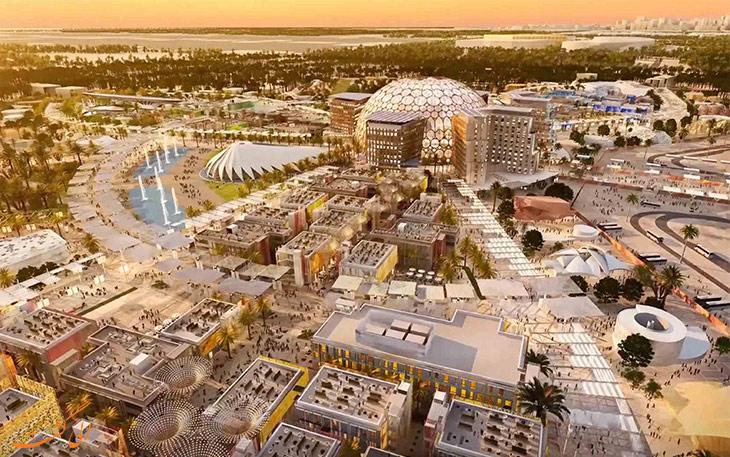 ساخت محوطه نمایشگاهی دبی