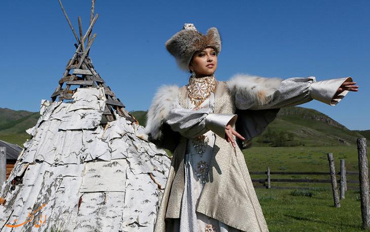 لباس عروس خاکاس روسیه