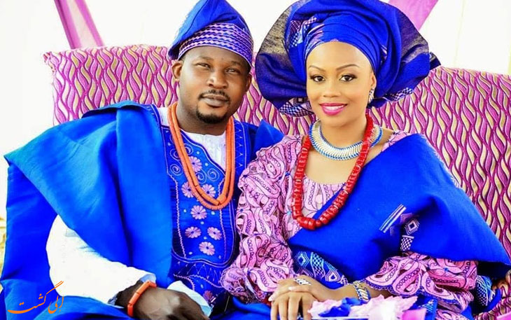 لباس عروس نیجریه