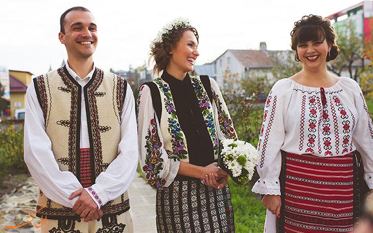 لباس عروس رومانی