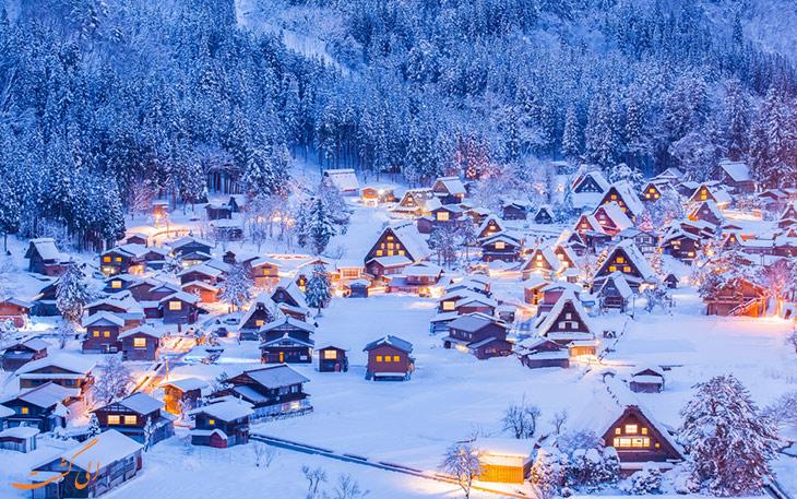 روستای تاریخی ژاپن