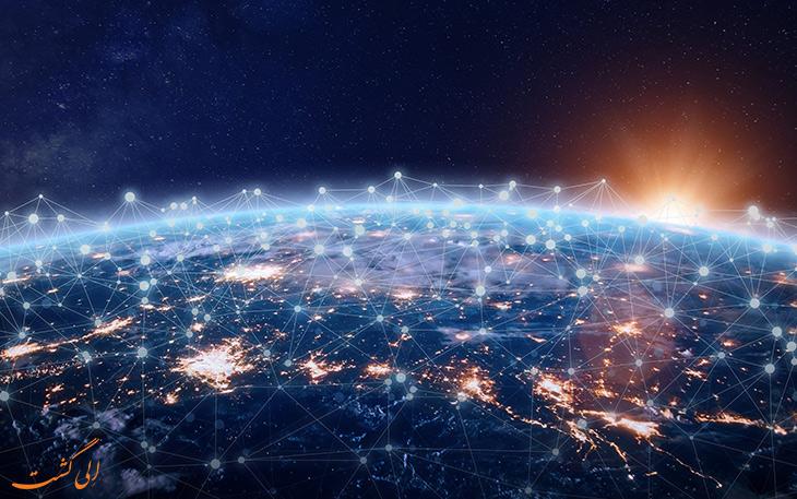 اینترنت پر سرعت در کشورهای مختلف